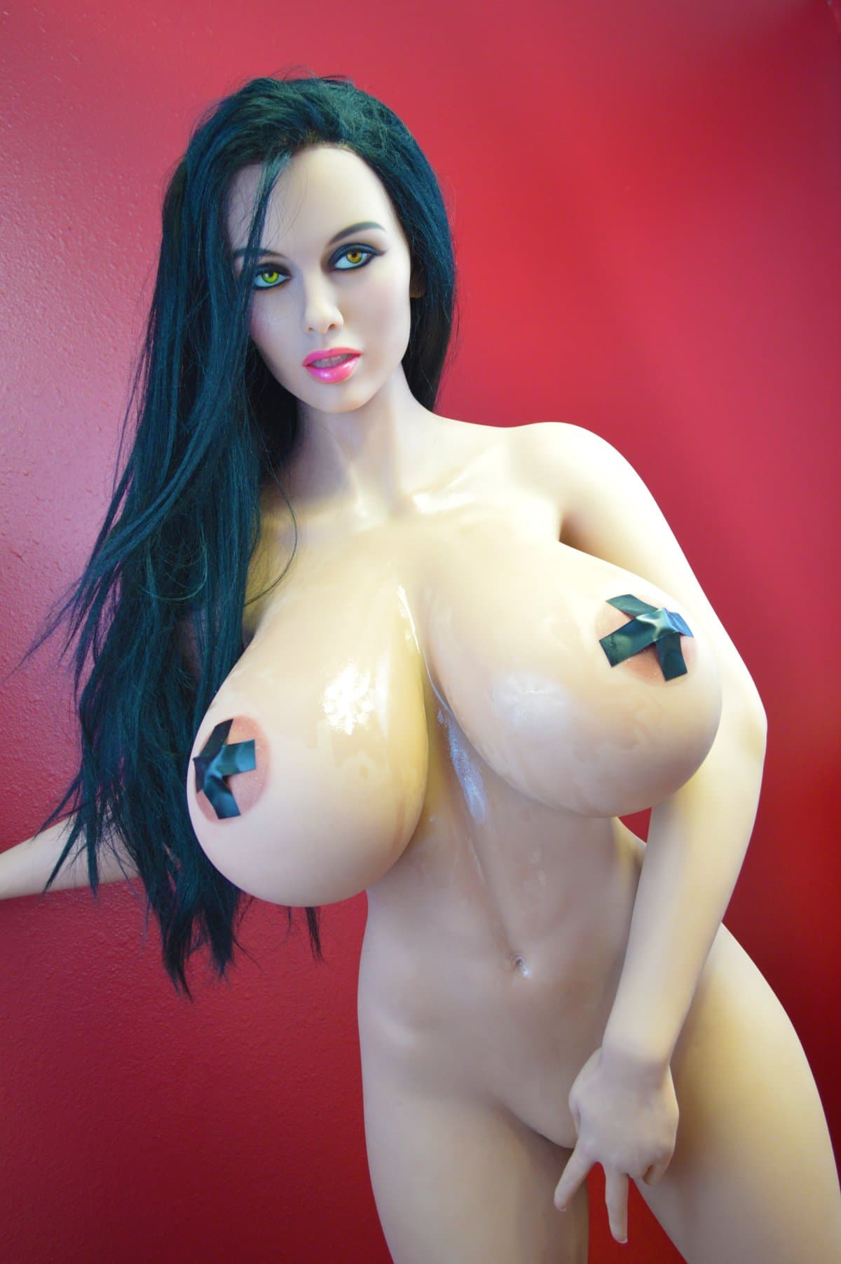 alley 170cm black hair giant massive tits athletic tpe wm sex doll(3)