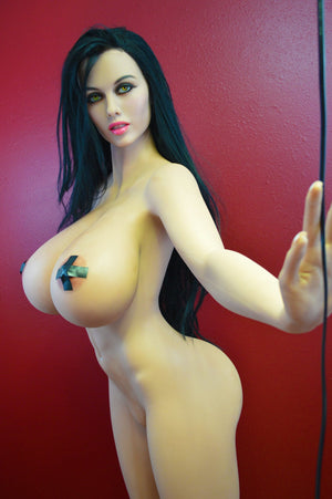 alley 170cm black hair giant massive tits athletic tpe wm sex doll(6)