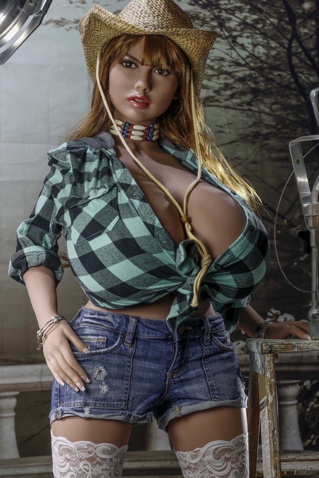 delta 150cm brown hair curvy giant massive tits tpe yl bbw sex doll