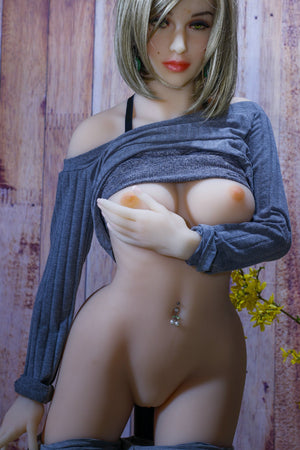robinne 155cm blonde medium tits skinny tpe yl sex doll(6)