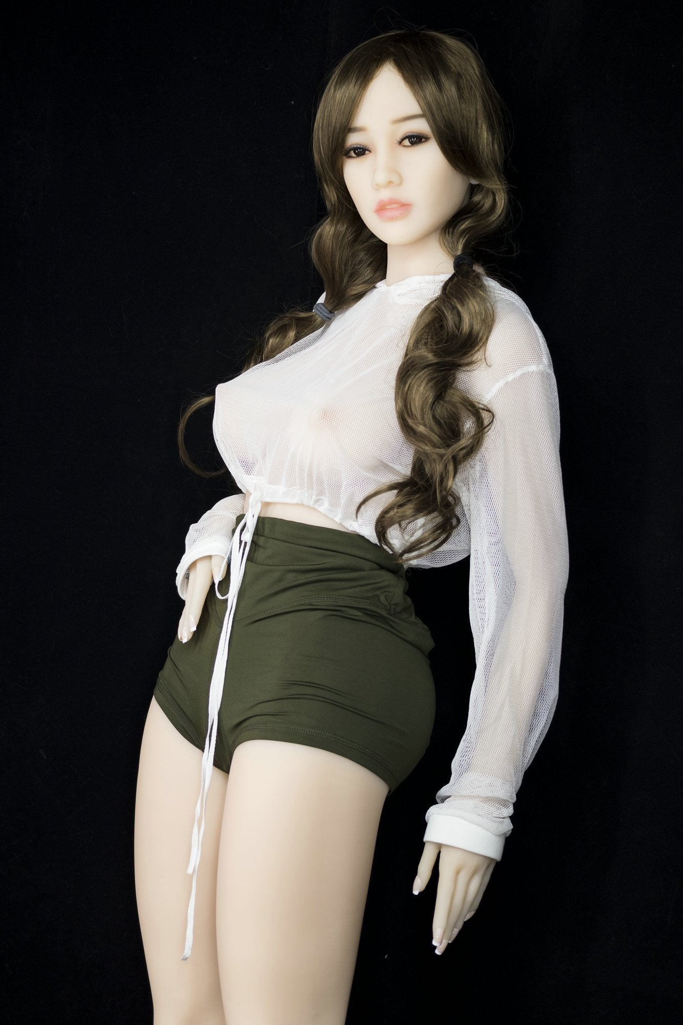 lela 155cm brown hair japanese medium tits athletic tpe yl sex doll(2)