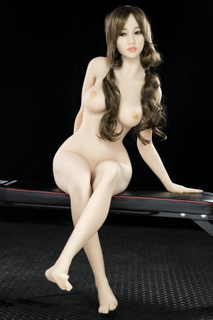 lela 155cm brown hair japanese medium tits athletic tpe yl sex doll(7)