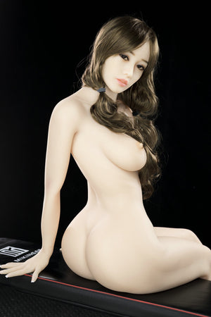 lela 155cm brown hair japanese medium tits athletic tpe yl sex doll(8)