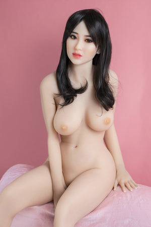 chyler 155cm black hair medium tits athletic tpe yl sex doll(7)