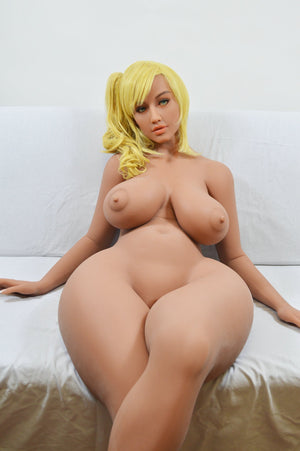 america 158cm blonde curvy big boobs best tpe yl bbw sex doll(4)