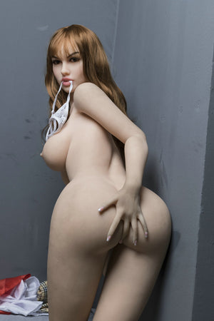 gin 170cm brown hair medium tits skinny tpe yl sex doll(8)