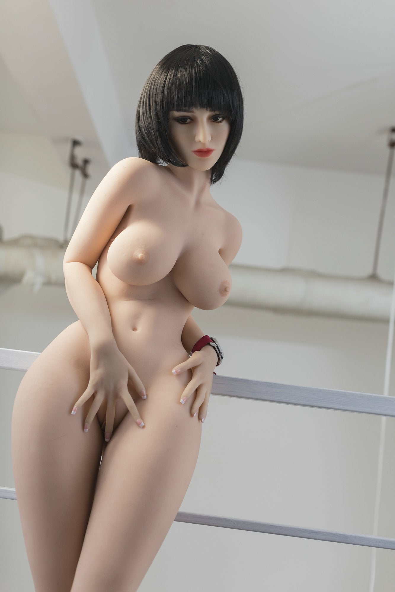 mackenzie 170cm black hair medium tits athletic tpe yl sex doll(8)