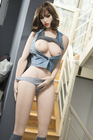 joan 170cm brown hair medium tits athletic tpe yl sex doll(4)
