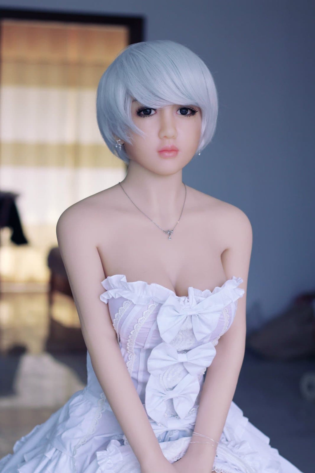 nia 148cm af blonde japanese medium tits skinny tpe asian small sex doll