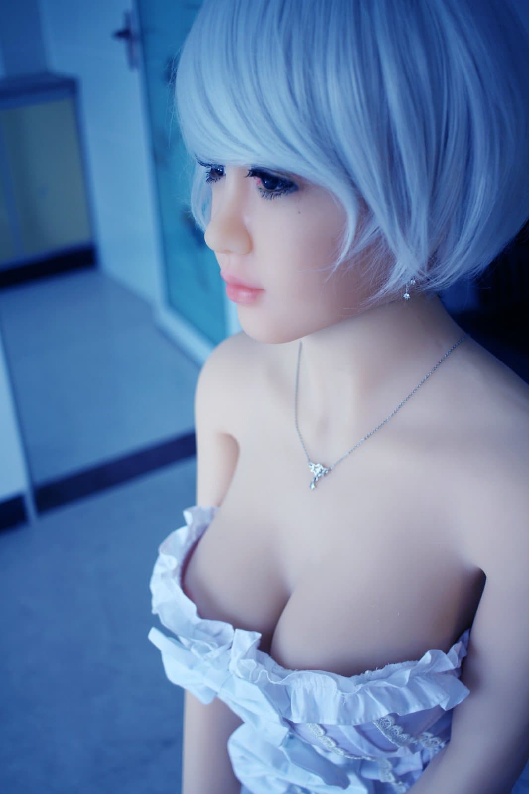 nia 148cm af blonde japanese medium tits skinny tpe asian small sex doll(6)