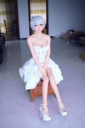 nia 148cm af blonde japanese medium tits skinny tpe asian small sex doll(7)