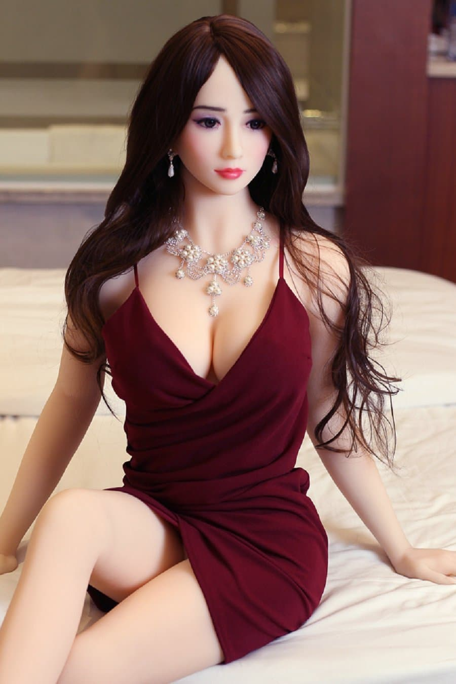 madison 158cm af brown hair medium tits skinny tpe sex doll(6)