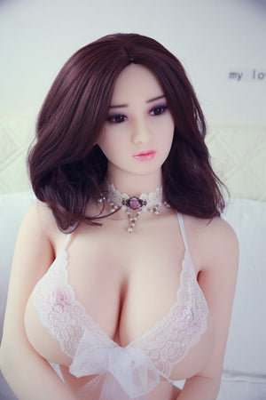 bryce 160cm af brown hair giant massive tits athletic tpe sex doll(4)