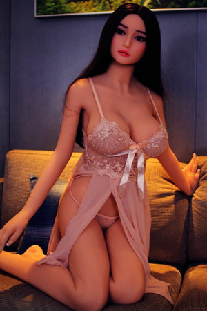 erica 165cm af black hair japanese big boobs skinny tpe asian sex doll