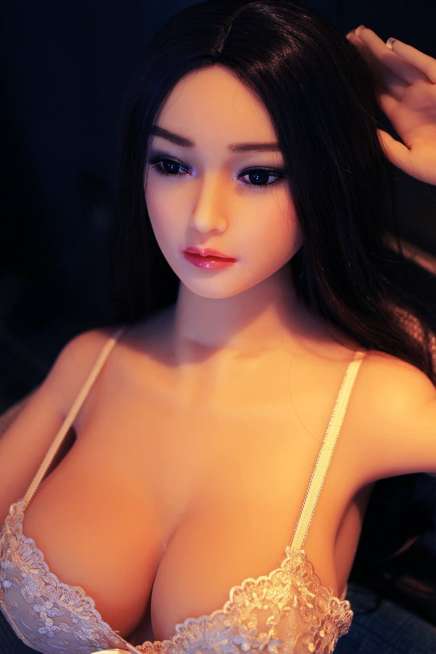 erica 165cm af black hair japanese big boobs skinny tpe asian sex doll(2)