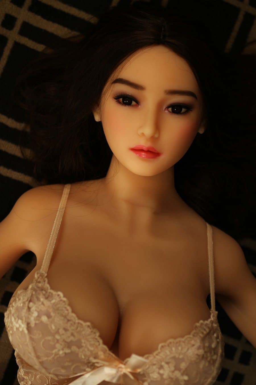erica 165cm af black hair japanese big boobs skinny tpe asian sex doll(3)