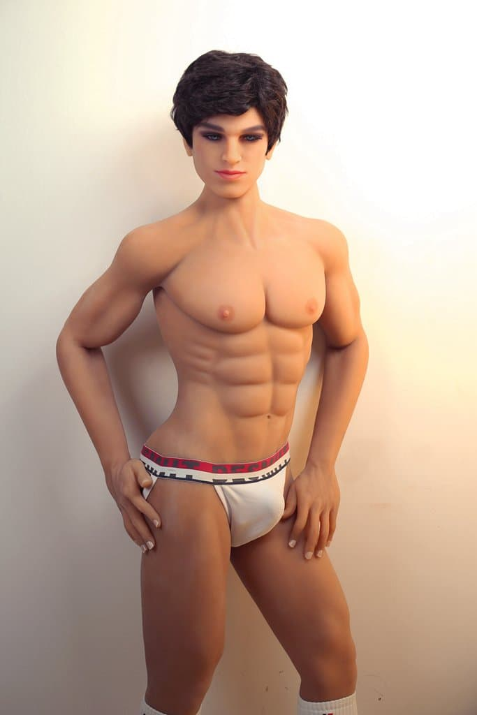 matthew 160cm male af brown hair male tan skin tpe gay boy sex doll(3)