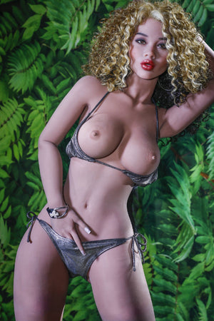 willow 170cm blonde brown hair medium tits skinny tpe yl sex doll(11)