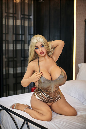 julie 140cm blonde curvy big boobs tpe bbw sex doll(6)
