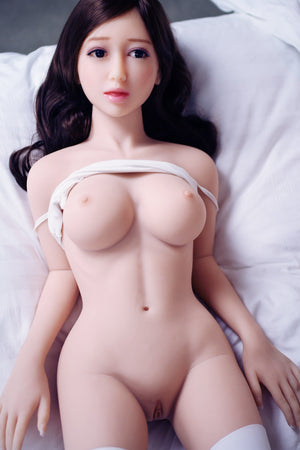 jonell 140cm black hair japanese jy medium tits skinny tpe asian small sex doll(13)