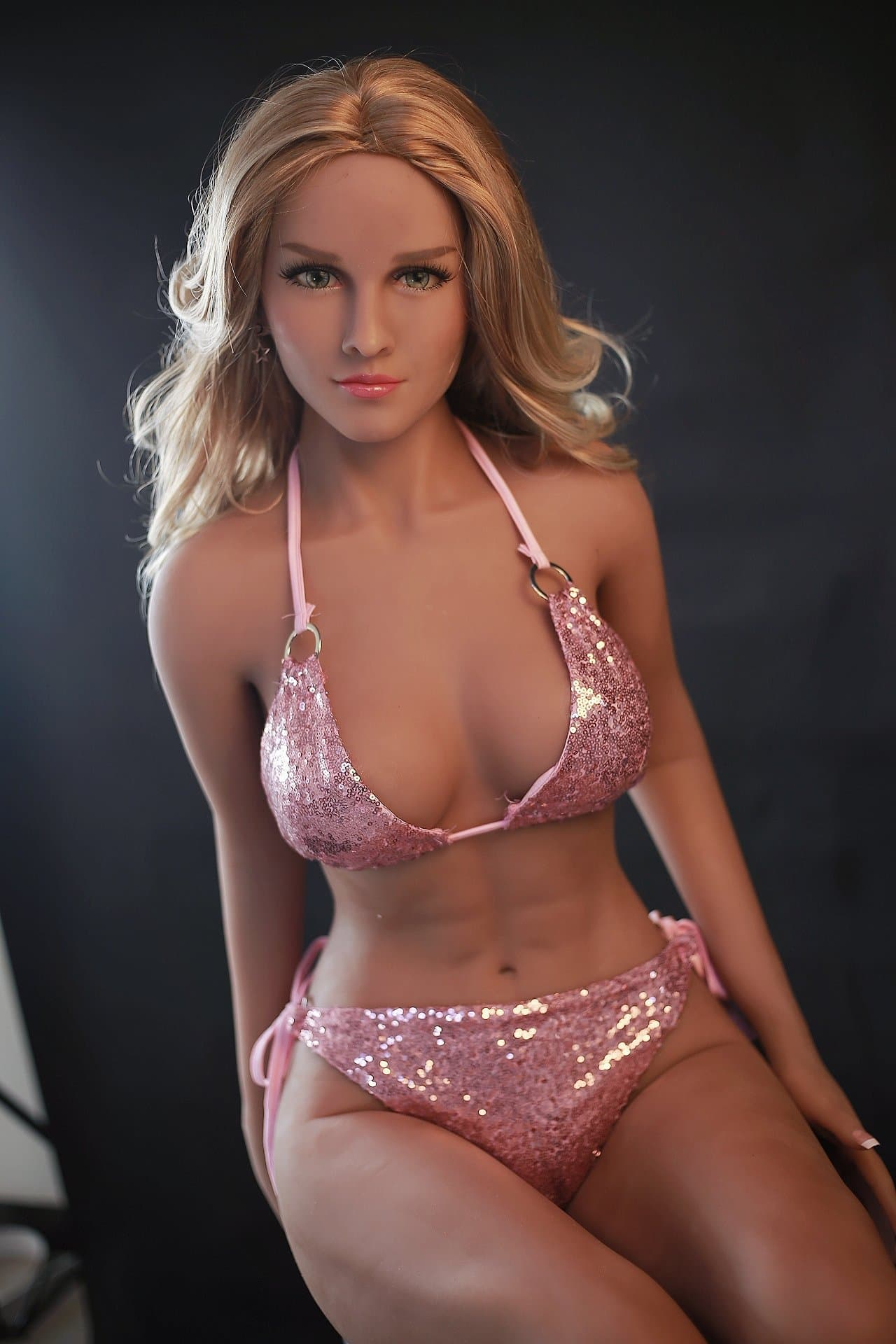 gavin 150cm blonde jy medium tits athletic tan skin tpe sex doll(3)