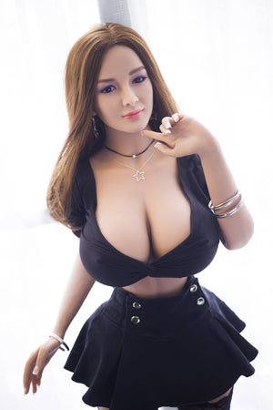 reba 153cm brown hair curvy giant massive tits jy athletic tpe sex doll(10)