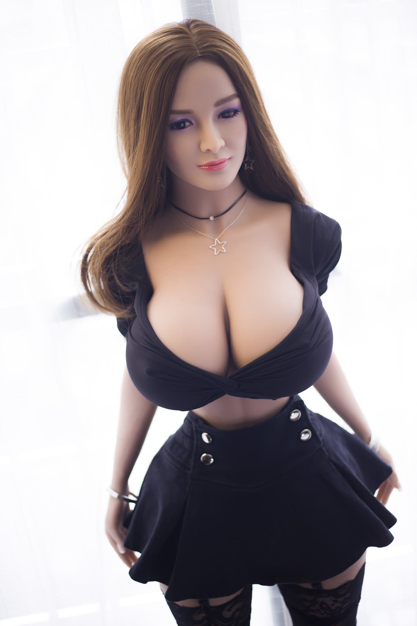 reba 153cm brown hair curvy giant massive tits jy athletic tpe sex doll(11)
