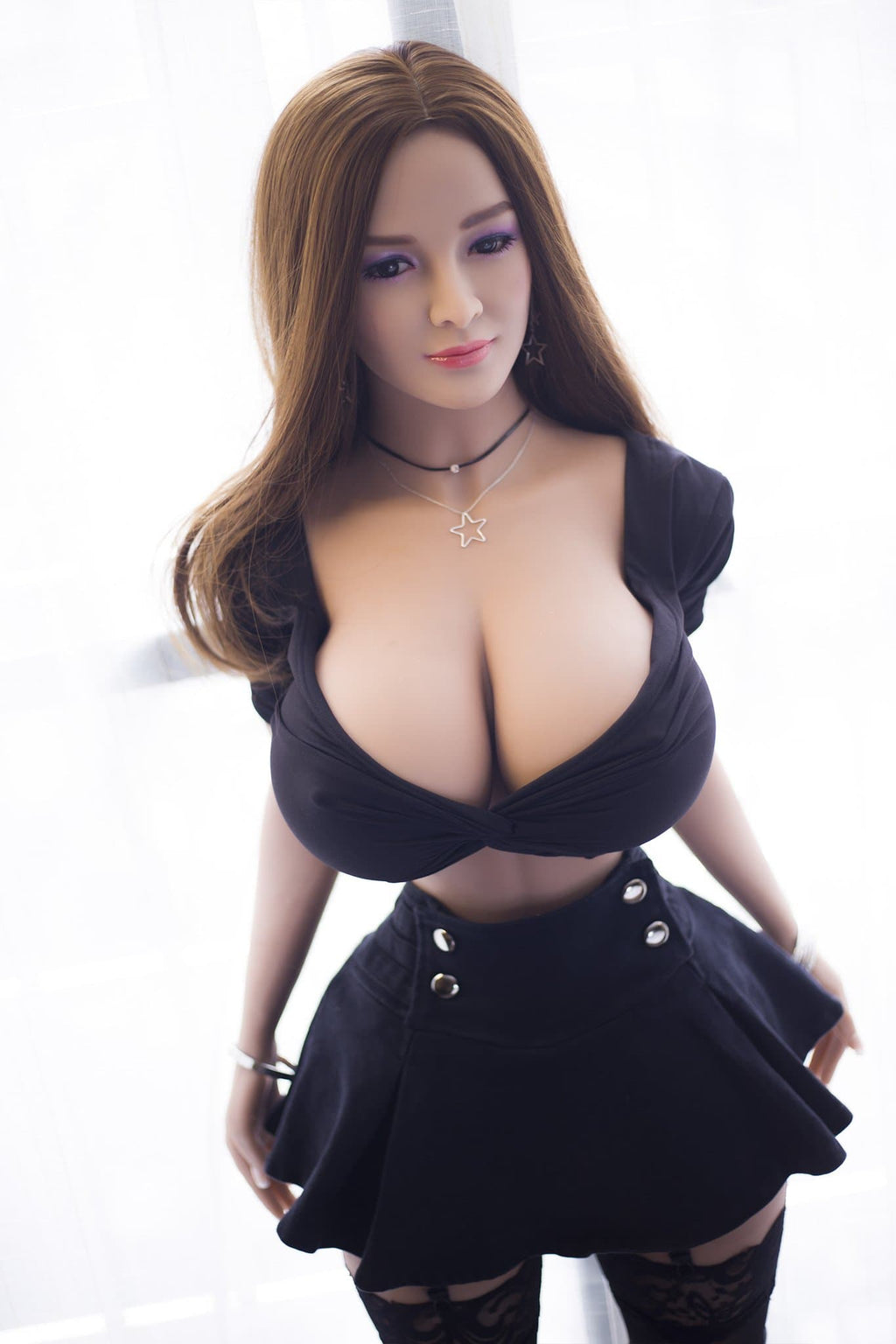 reba 153cm brown hair curvy giant massive tits jy athletic tpe sex doll