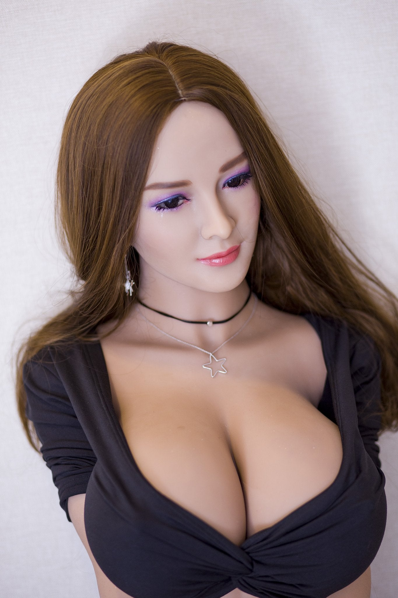 reba 153cm brown hair curvy giant massive tits jy athletic tpe sex doll(2)