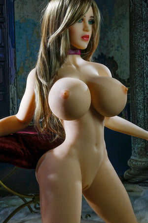 erin 153cm brown hair curvy giant massive tits jy tpe sex doll(10)