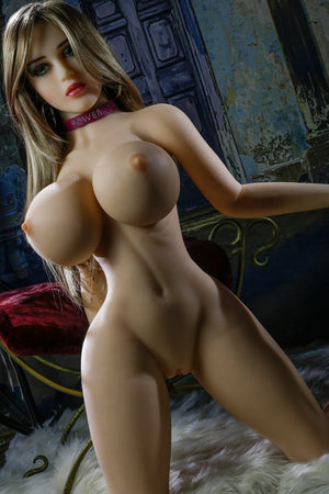 erin 153cm brown hair curvy giant massive tits jy tpe sex doll(11)
