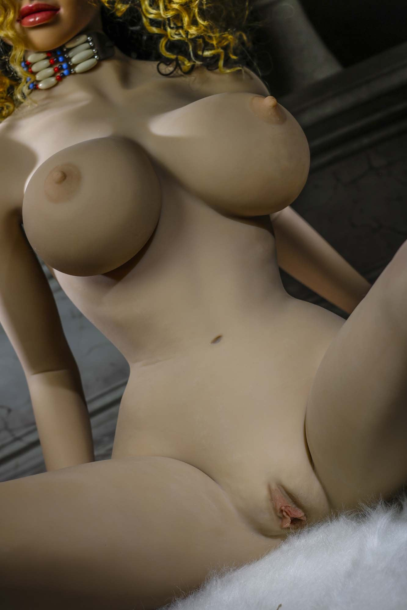 oona 158cm brown hair jy big boobs athletic tan skin tpe sex doll(10)