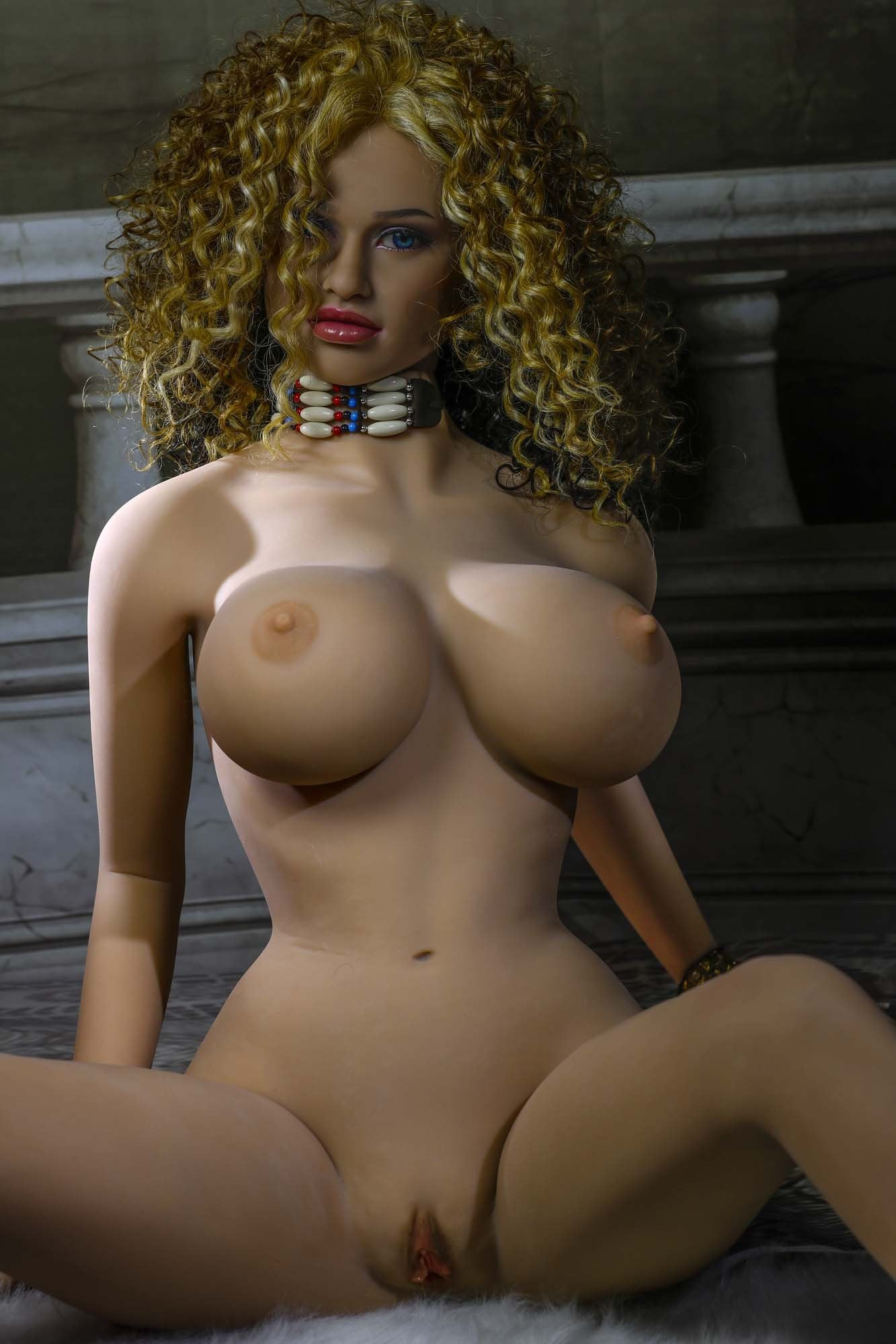 oona 158cm brown hair jy big boobs athletic tan skin tpe sex doll(11)