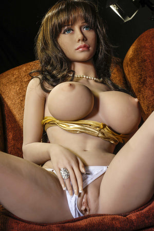 rosalia 158cm brown hair jy big boobs skinny tpe sex doll(12)