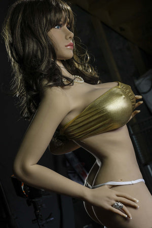 rosalia 158cm brown hair jy big boobs skinny tpe sex doll(6)