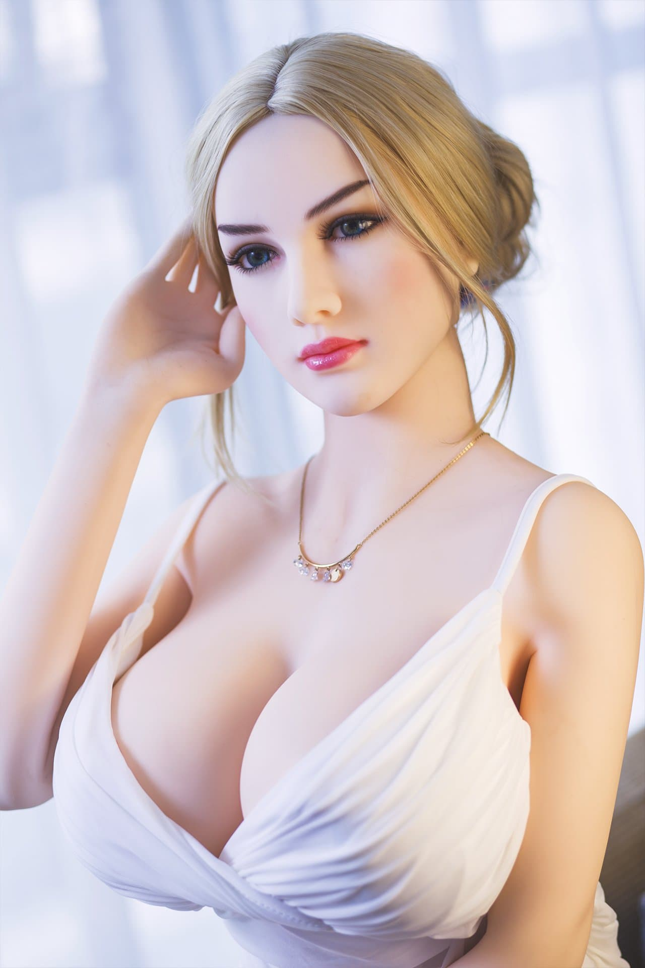 suki 163cm blonde jy big boobs skinny tpe sex doll(4)