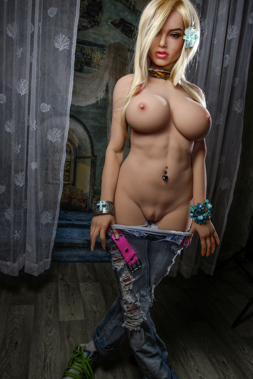 shari 161cm blonde big boobs athletic tpe sex doll(7)