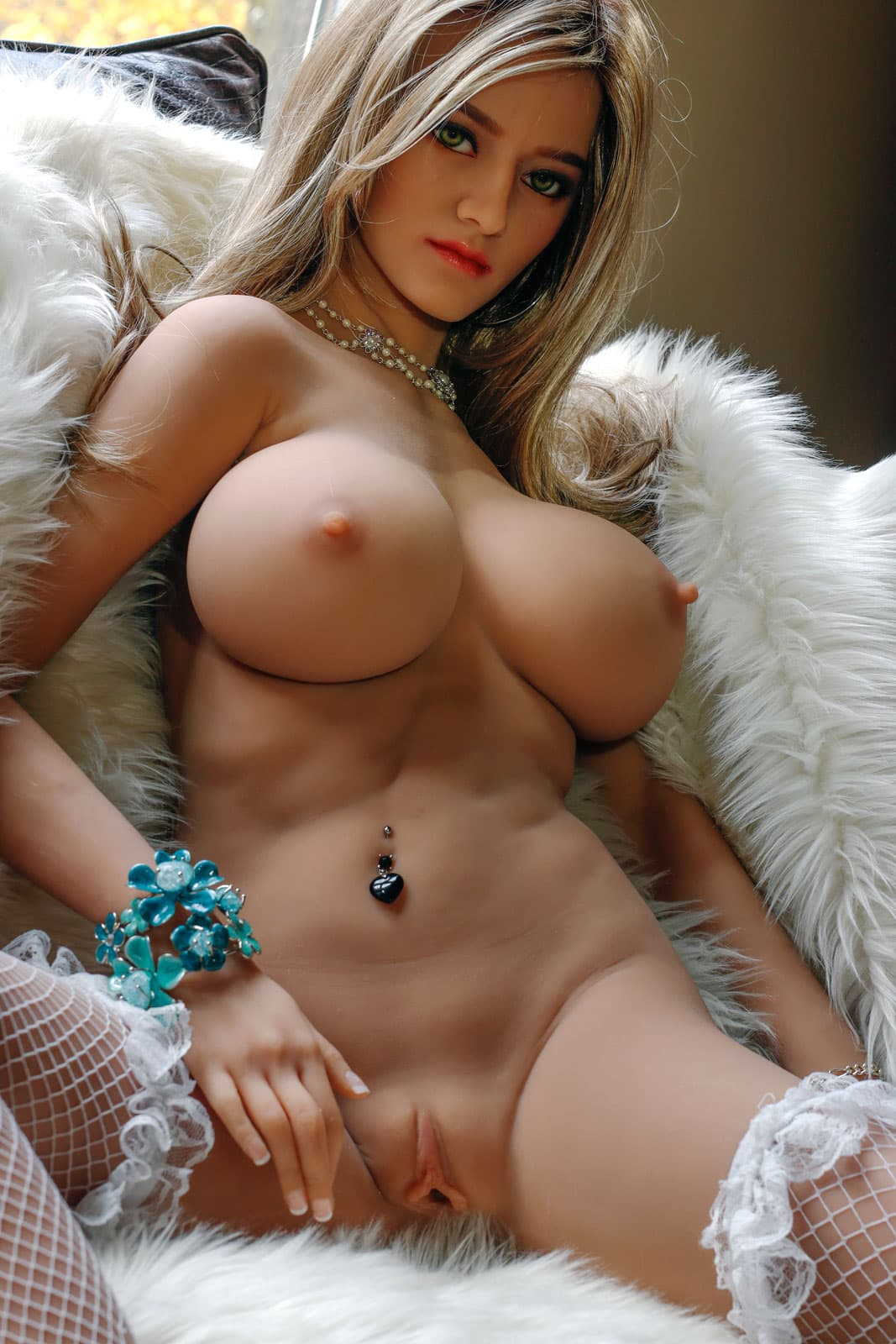 faune 161cm blonde big boobs athletic tan skin tpe sex doll(8)