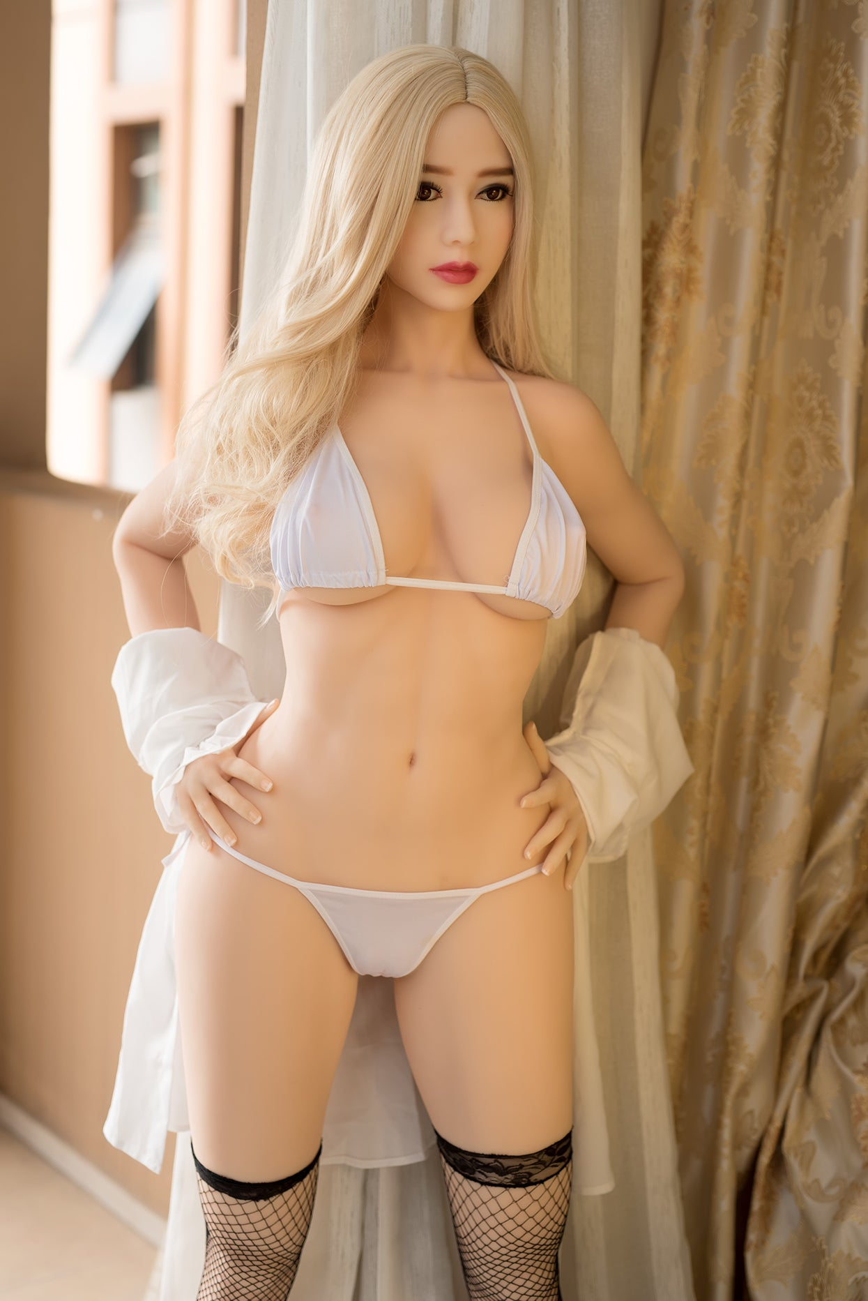 mariann 164cm 5ft5 blonde medium tits athletic tpe sex doll(7)