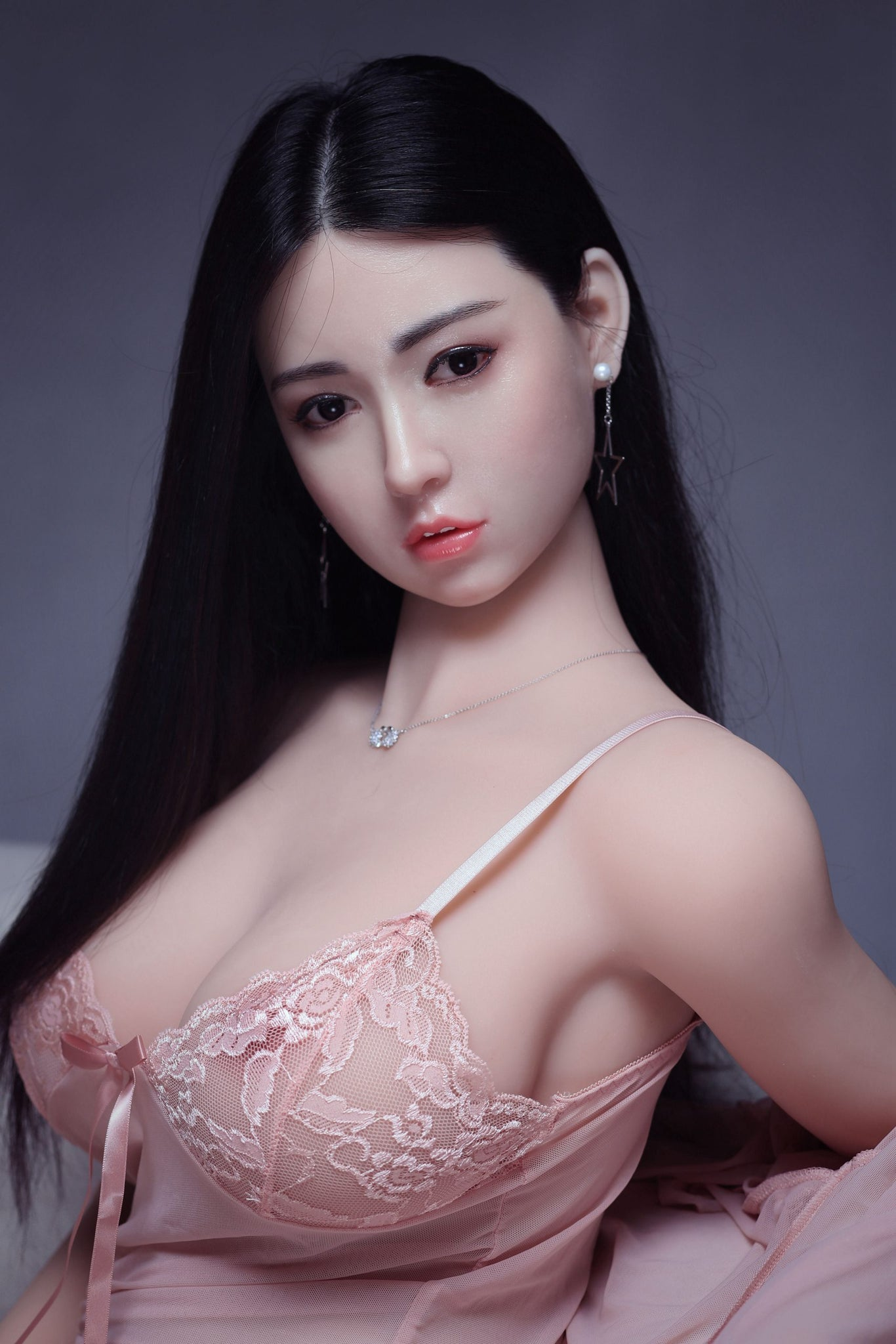 troja 161cm af black hair curvy big boobs athletic best tpe sex doll(2)