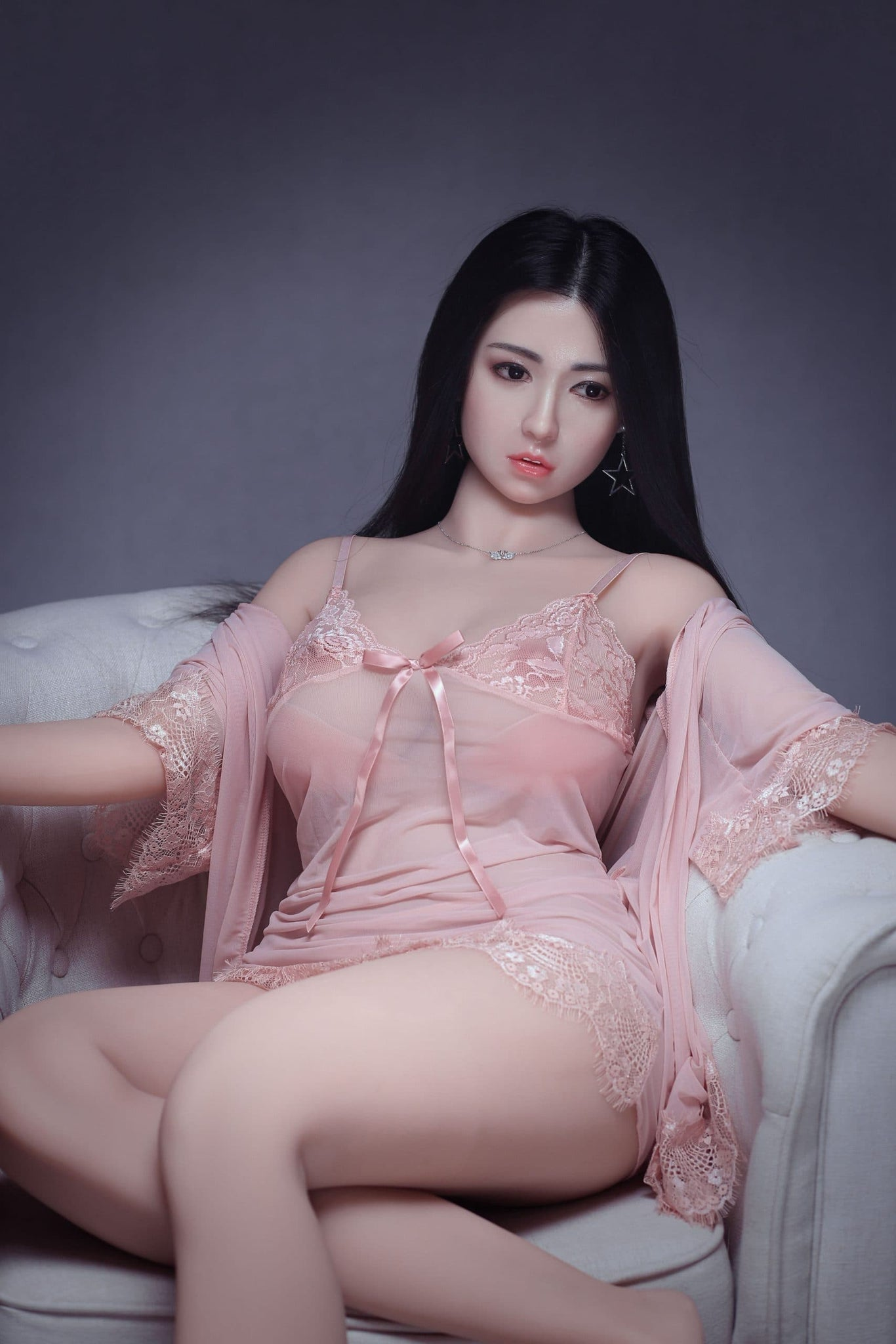 troja 161cm af black hair curvy big boobs athletic best tpe sex doll(4)