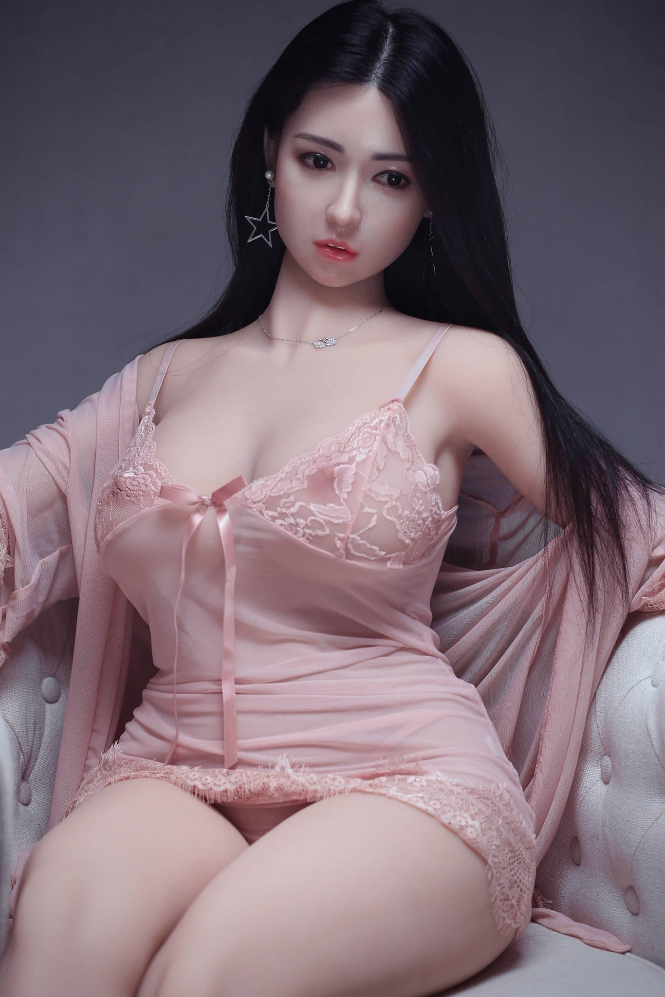 troja 161cm af black hair curvy big boobs athletic best tpe sex doll(5)