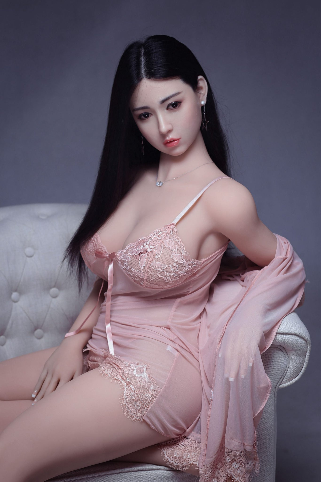 troja 161cm af black hair curvy big boobs athletic best tpe sex doll(7)