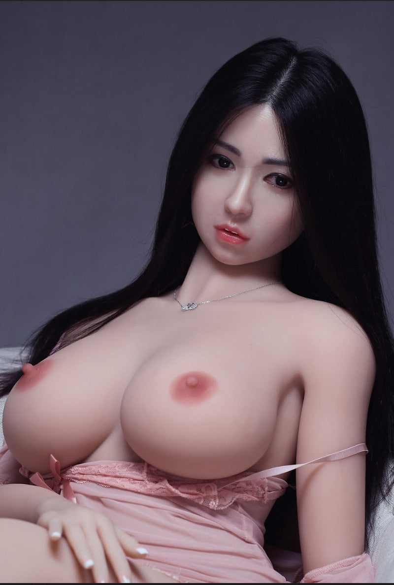 troja 161cm af black hair curvy big boobs athletic best tpe sex doll(8)