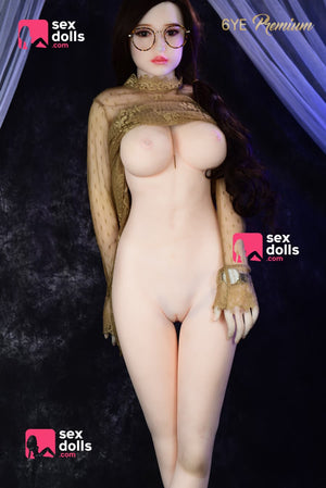 olivia 160cm black hair japanese medium tits skinny tpe sex doll(12)