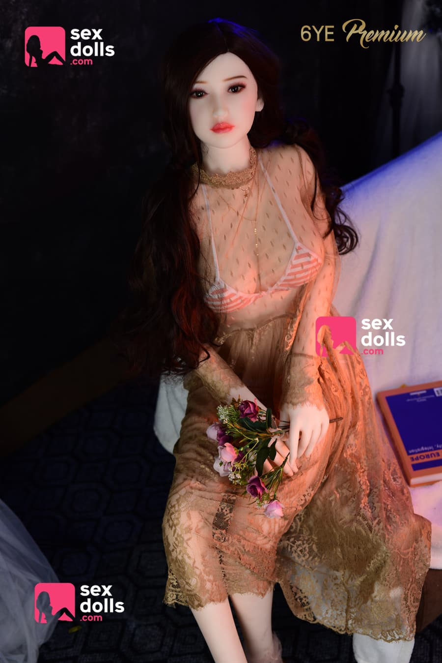 olivia 160cm black hair japanese medium tits skinny tpe sex doll(4)