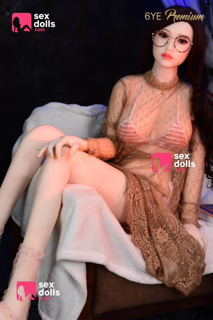 olivia 160cm black hair japanese medium tits skinny tpe sex doll(6)