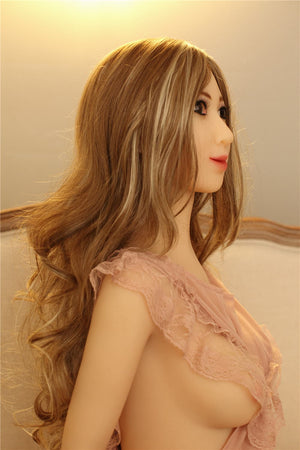 sheridan 155cm brown hair skinny flat chested tan skin tpe sex doll(4)
