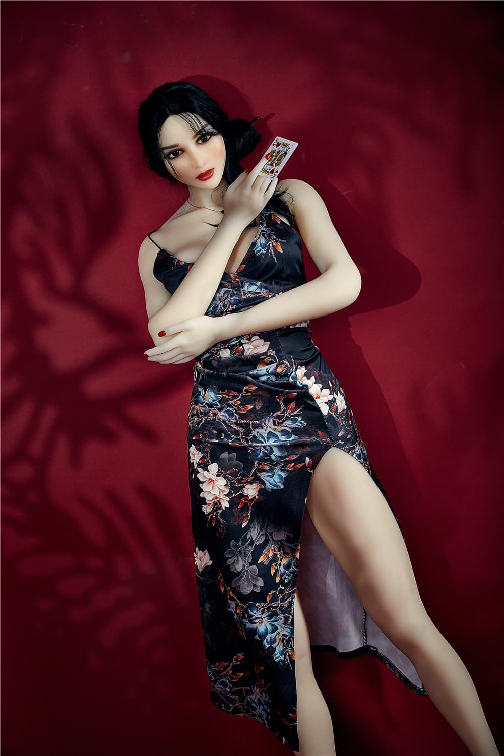 bonita 168cm black hair athletic flat chested tpe sex doll(4)