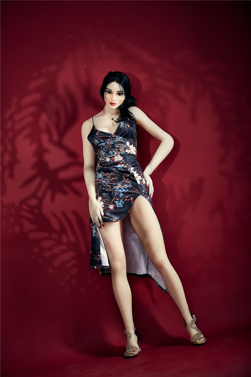 bonita 168cm black hair athletic flat chested tpe sex doll(5)